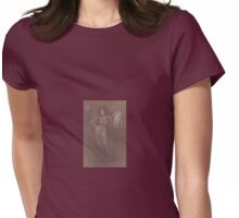 MIDNIGHT LADY Womens Fitted T-Shirt