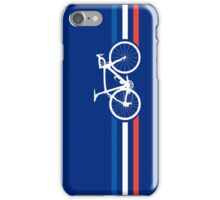 Bike Stripes French National Road Race v2 iPhone Case/Skin