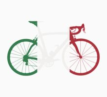 Bike Flag Italy (Big) Kids Clothes