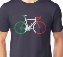 Bike Flag Italy (Big) Unisex T-Shirt