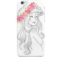 Pinkflowers Crown iPhone Case/Skin