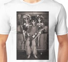 Alien Vacation - Old Time Photo Unisex T-Shirt