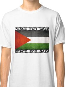 Peace for Gaza  Classic T-Shirt