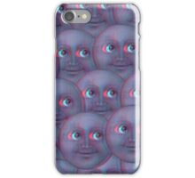 Fuzzy moon emoji  iPhone Case/Skin