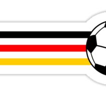 Football Stripes Germany Sticker