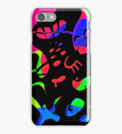 Black Sludge iPhone Case/Skin