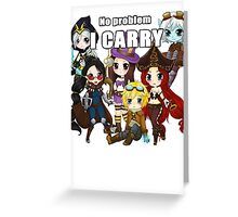 Carry classic - League of Legends Greeting Card
