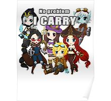 Carry classic - League of Legends Poster