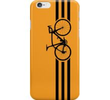 Bike Stripes Black iPhone Case/Skin