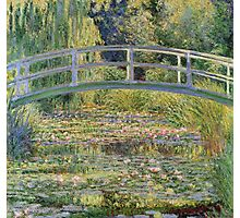 Claude Monet - The Japanese Bridge The Water Lily Pond 1899 Photographic Print