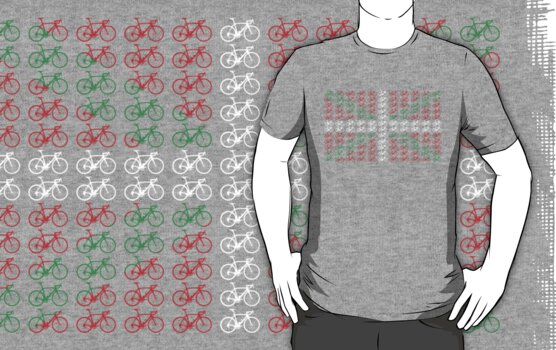 Bike Flag Basque (Small) by sher00