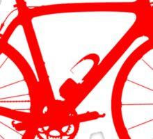 Bike Red (Big) Sticker