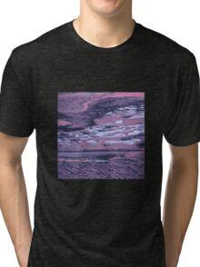 Sunset colours on the sea Tri-blend T-Shirt