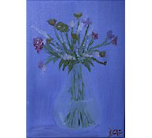 Friendly Flowers Photographic Print