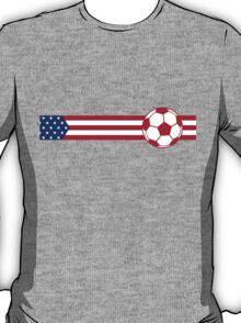 Football Stripes USA T-Shirt