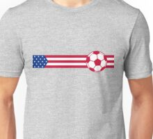 Football Stripes USA Unisex T-Shirt