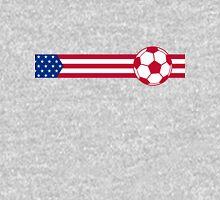 Football Stripes USA Unisex T-Shirt