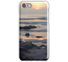 Daybreak at Coquina Rocks Beach iPhone Case/Skin