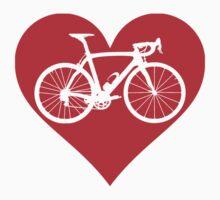 Bike Heart (Red) (Big) by sher00