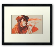 Being of Flame  Framed Print