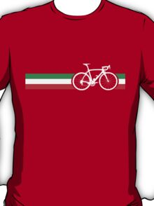 Bike Stripes Italian National Road Race T-Shirt