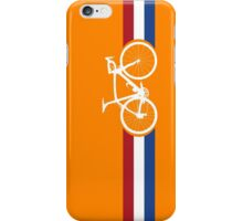 Bike Stripes Netherlands National Road Race iPhone Case/Skin
