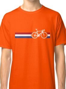 Bike Stripes Netherlands National Road Race Classic T-Shirt