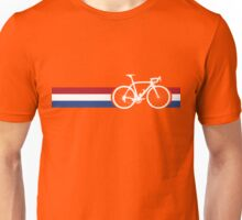 Bike Stripes Netherlands National Road Race Unisex T-Shirt