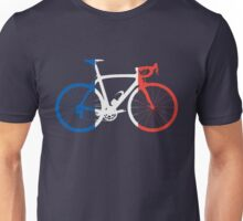 Bike Flag France (Big) Unisex T-Shirt