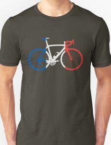 Bike Flag France (Big) Unisex T-Shirt