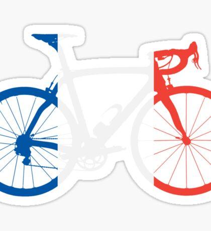 Bike Flag France (Big) Sticker