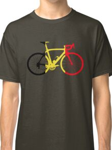 Bike Flag Belgium (Big) Classic T-Shirt