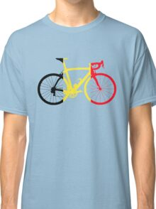 Bike Flag Belgium (Big) Classic T-Shirt
