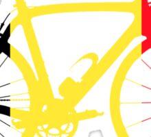 Bike Flag Belgium (Big) Sticker