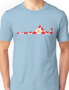Red Polka Dot 2014 L'Etape du Tour Mountain Profile Unisex T-Shirt