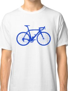 Bike Blue (Big) Classic T-Shirt