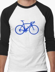 Bike Blue (Big) Men's Baseball ¾ T-Shirt