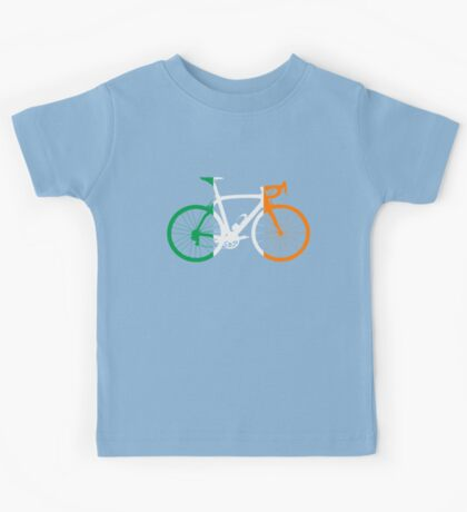 Bike Flag Ireland (Big) Kids Tee