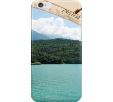 Lago di Toblino iPhone Case/Skin