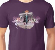 Graffiti boy in the street Unisex T-Shirt