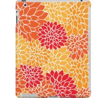 Striking, Abstract and Floral iPad Case/Skin