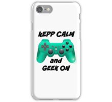 consola del friki  iPhone Case/Skin