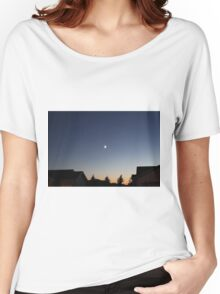 Moon In The Sky Women's Relaxed Fit T-Shirt