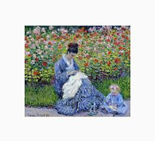 Claude Monet - Madame Monet And Child Unisex T-Shirt
