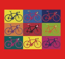 Bike Andy Warhol Pop Art Kids Clothes