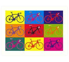 Bike Andy Warhol Pop Art Art Print