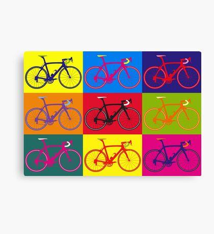 Bike Andy Warhol Pop Art Canvas Print