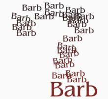 Question mark on Barb from Stranger Things Baby Tee