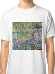 Claude Monet - The Artist s Garden In Giverny 1900  Classic T-Shirt