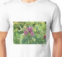 Cluster Of Purple Flowers Unisex T-Shirt
